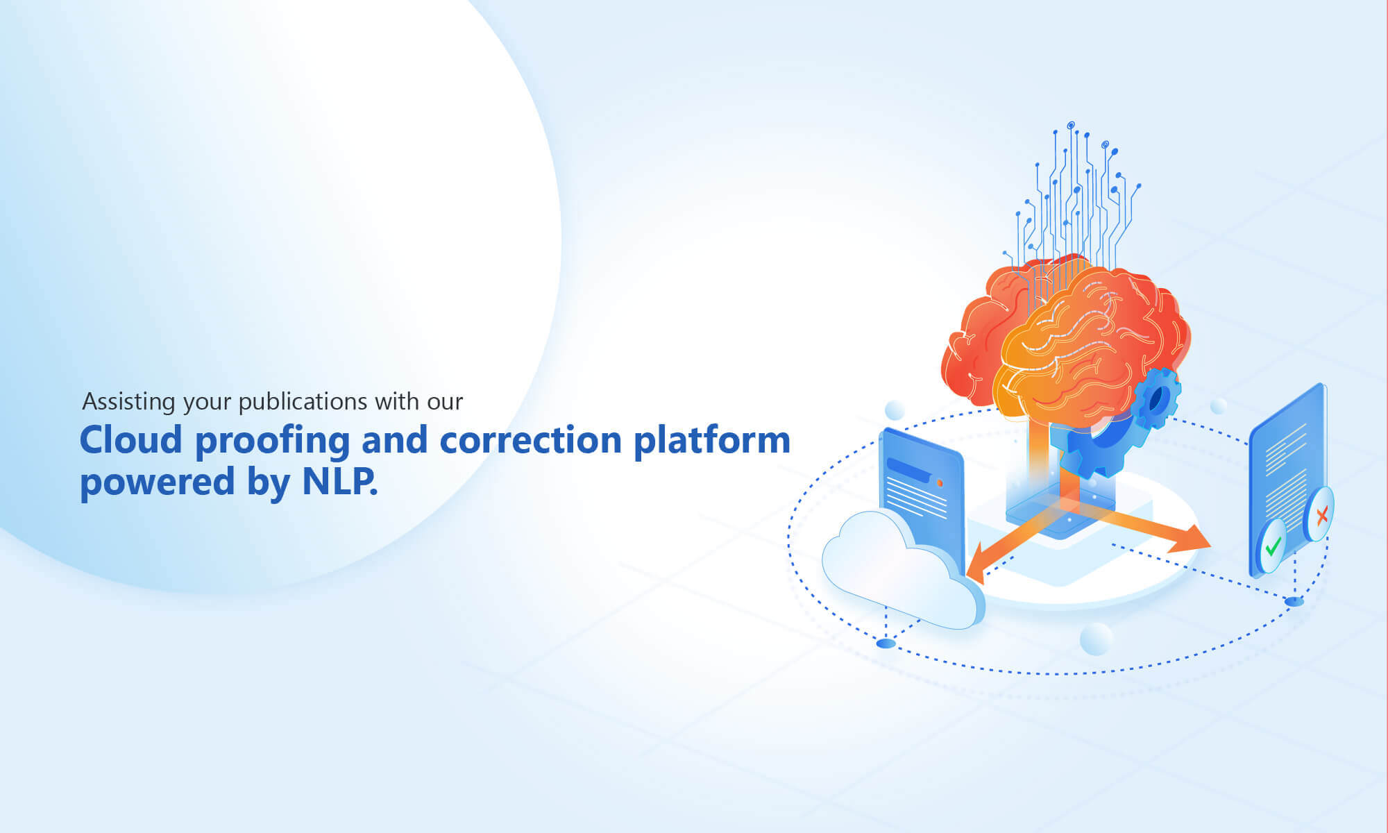 Cloud proofing and author correction services
