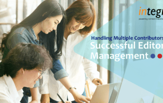 Handling Multiple Contributors—Successful Editorial Management.